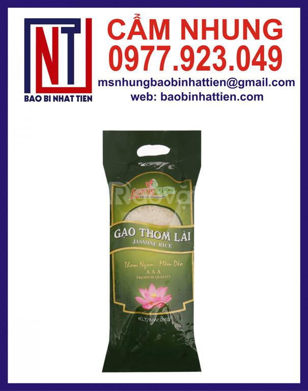 Bao bì gạo giá rẻ, túi đựng gạo 1kg