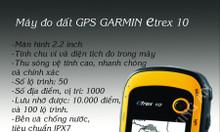 Máy diện tích đất định vị GPS Garmin eTrex 10