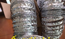 Ống gió nhôm Hàn Quốc, ống gió nhôm d75 dùng hút mùi hút khí