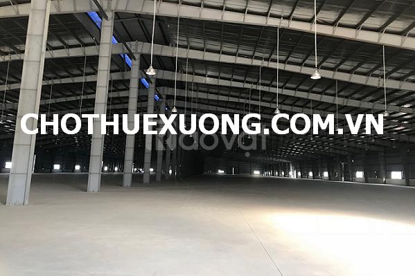 Cho thuê nhà xưởng Khu công nghiệp Đại Đồng Hoàn Sơn Tiên Du Bắc Ninh