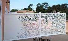 Hàng rào sắt uốn nghệ thuật cắt CNC phong cách cổ điển, sang trọng