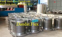 Ống thép mềm, ống nối mềm inox lắp bích, ống chống rung mặt bích inox