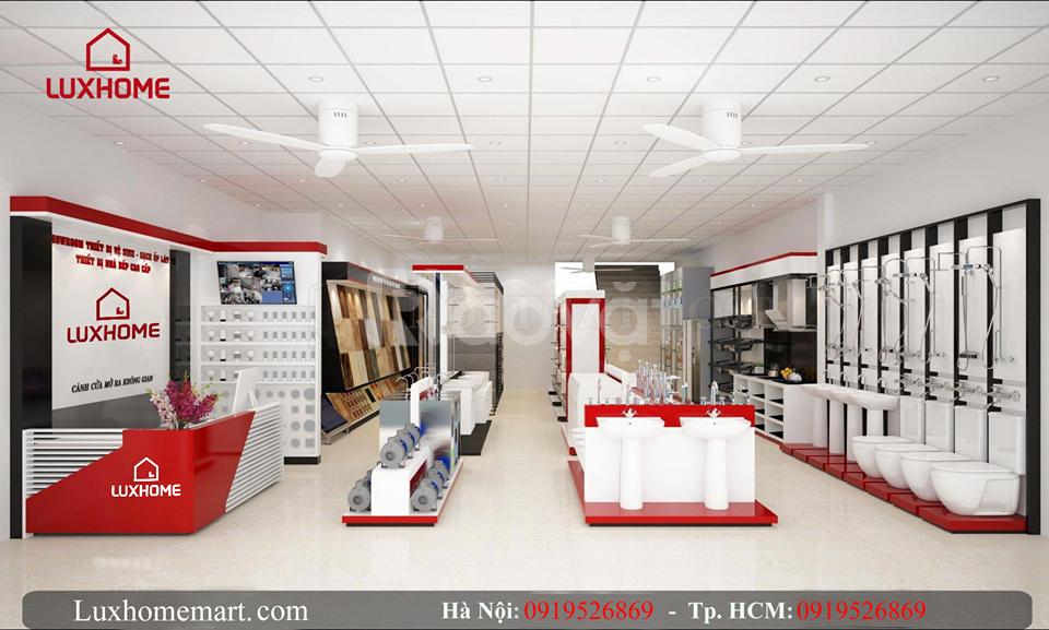 Hỗ trợ mở cửa hàng vật liệu xây dựng cho nhà phân phối