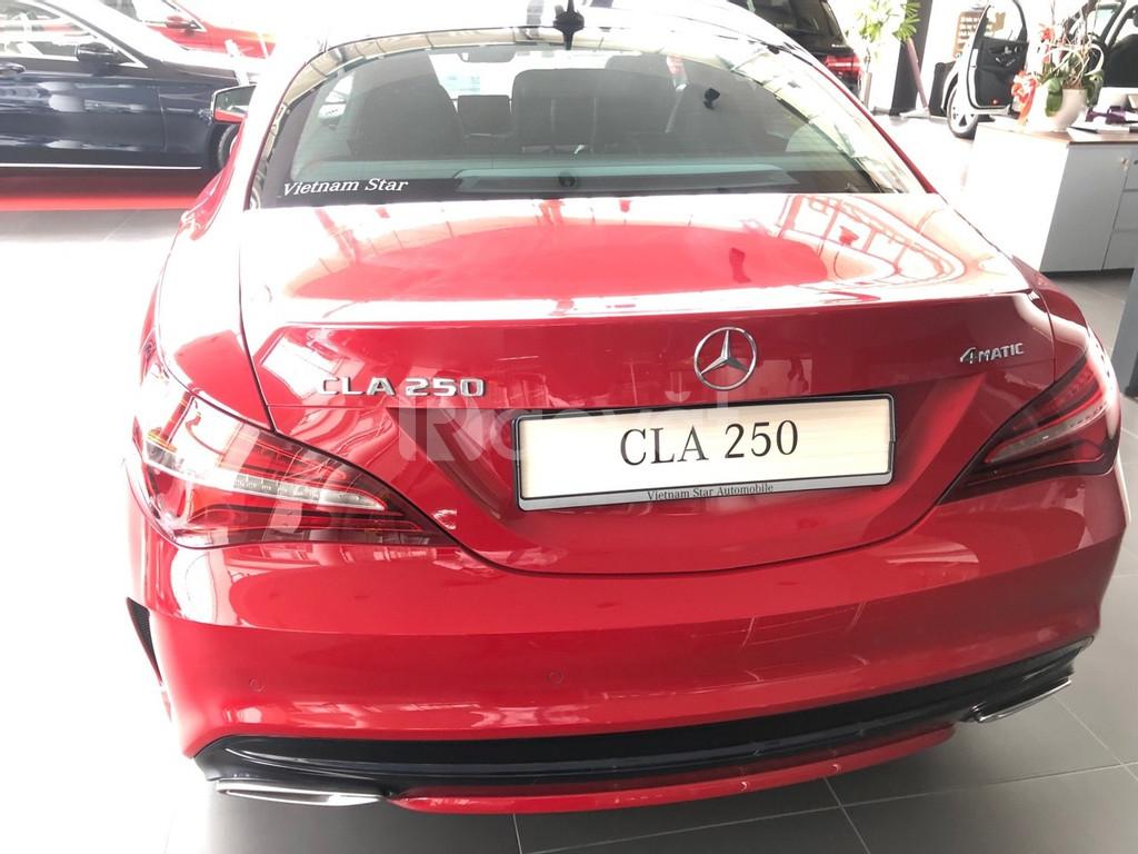 Trả trước 600tr nhận ngay xe Mercedes cla 250 đỏ mới 100% khuyến mãi