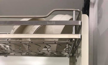 Giá đựng bát đĩa di động Inox 304 Bosseu