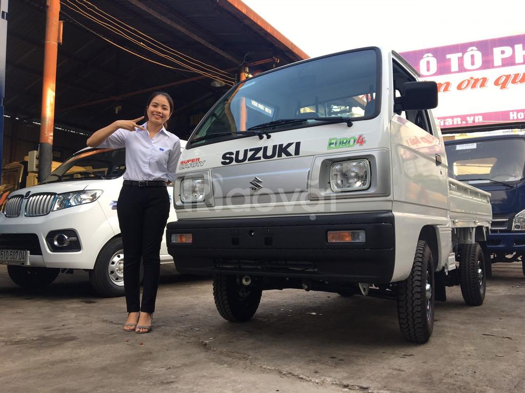 Xe tải suzuki 500kg thùng lửng giá rẻ- dễ sử dụng