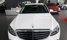 Mercedes c200 exclusive trắng trả trước 500tr giao xe ngay