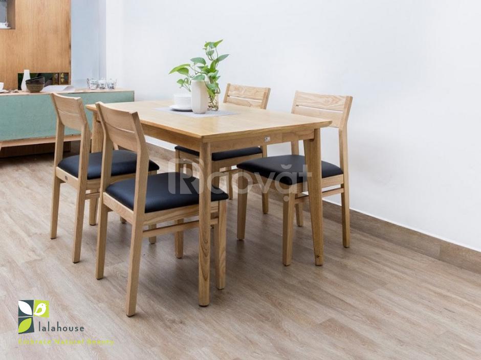 Bộ bàn ăn 4 ghế - hàng xuất khẩu giá nội địa