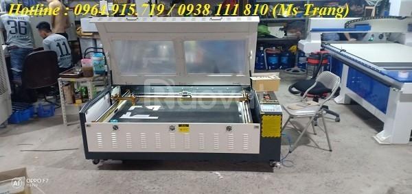 Máy laser cắt khắc gỗ , máy khắc laser 1390 giá rẻ