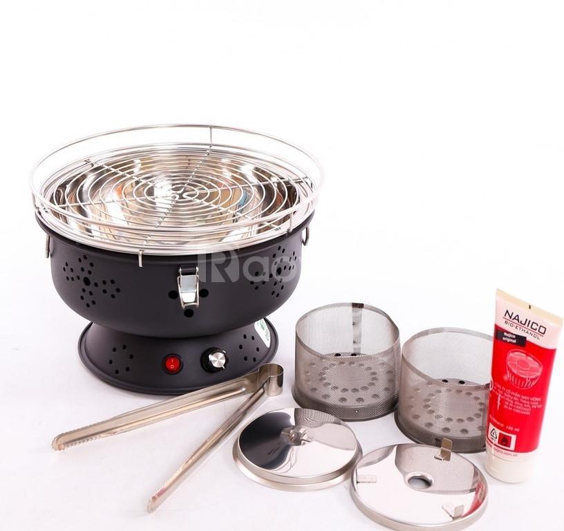 Bếp nướng than hoa không khói để bàn cho quán nướng lẩu