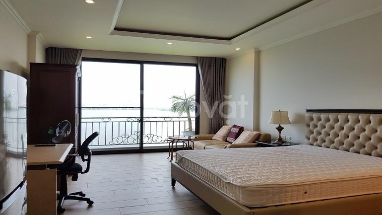 Cho thuê căn hộ Yên Phụ, Tây Hồ, 45m2, 1PN, view hồ, đủ đồ (ảnh 3)