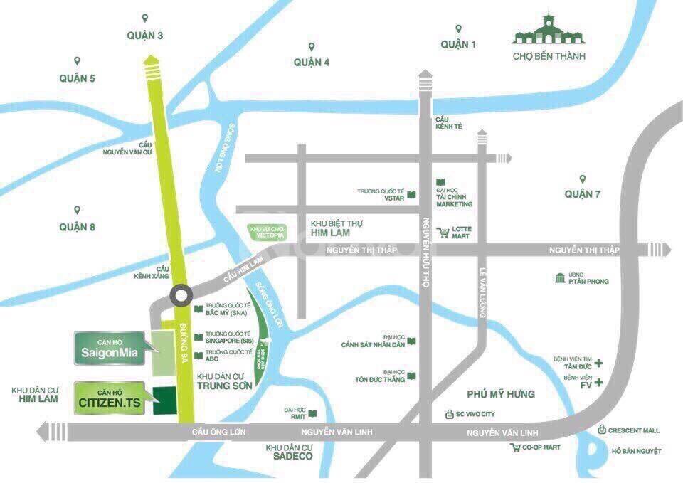 Duplex Citizen Trung Sơn 147m² 5PN vừa bàn giao