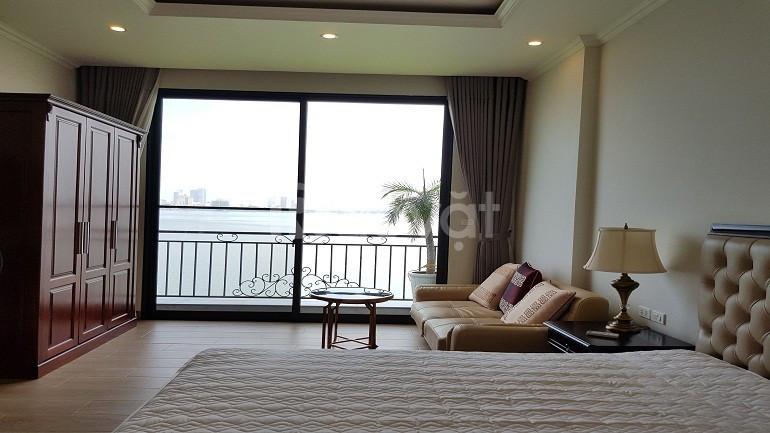 Cho thuê căn hộ Yên Phụ, Tây Hồ, 45m2, 1PN, view hồ, đủ đồ (ảnh 6)