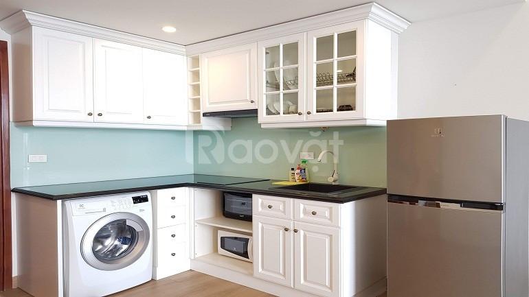 Cho thuê căn hộ Yên Phụ, Tây Hồ, 45m2, 1PN, view hồ, đủ đồ (ảnh 5)