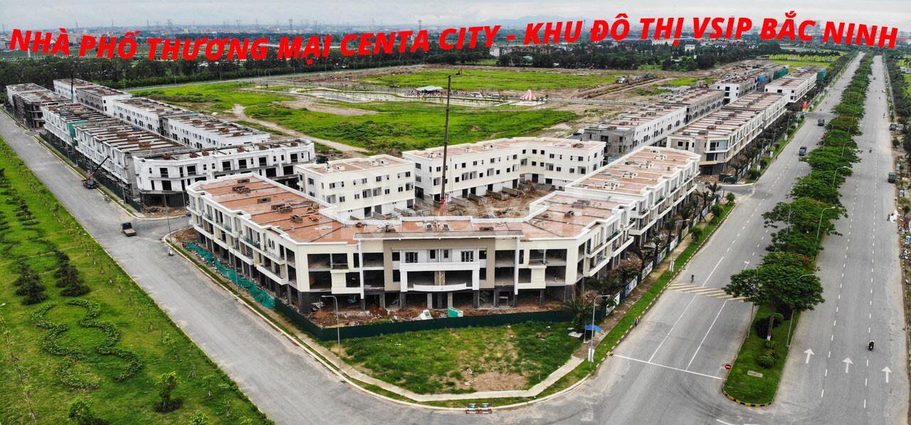 Shophouse khu đô thị VSIP, nha phố thương mại tại Từ Sơn, Bắc NInh