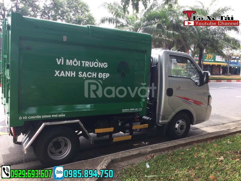 Xe rác 3.5 khối Jac chở rác 3.5 Khối - Giải pháp thay thế