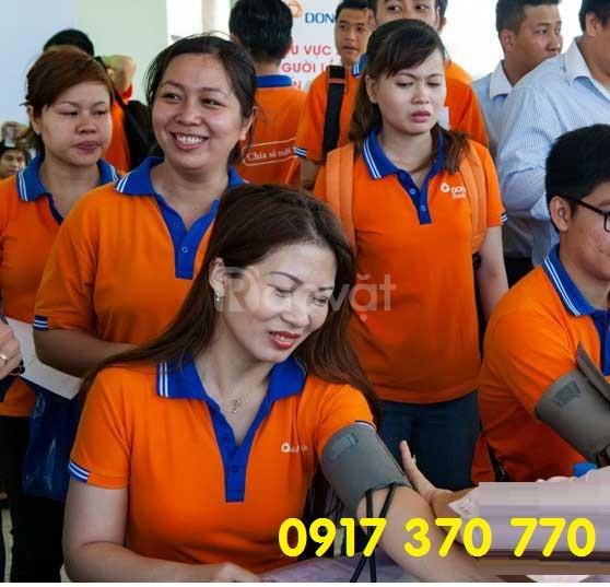 Xưởng áo thun tại Bình Dương - may gia công áo thun 8k/áo