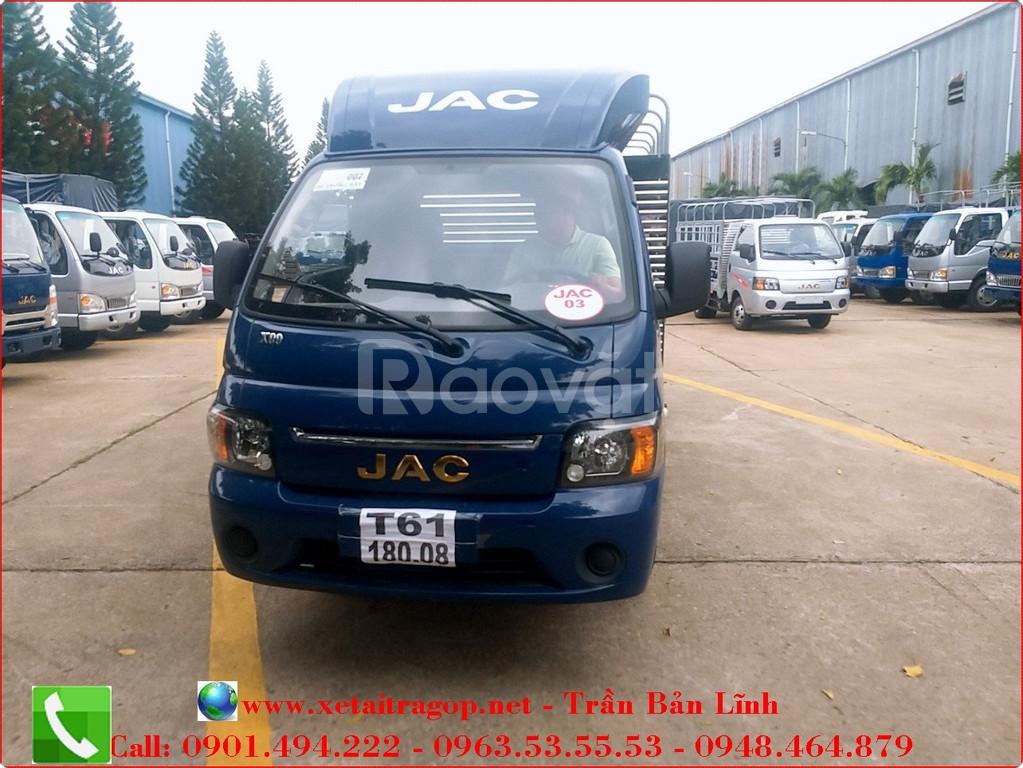 JAC X5 990kg thùng bạt
