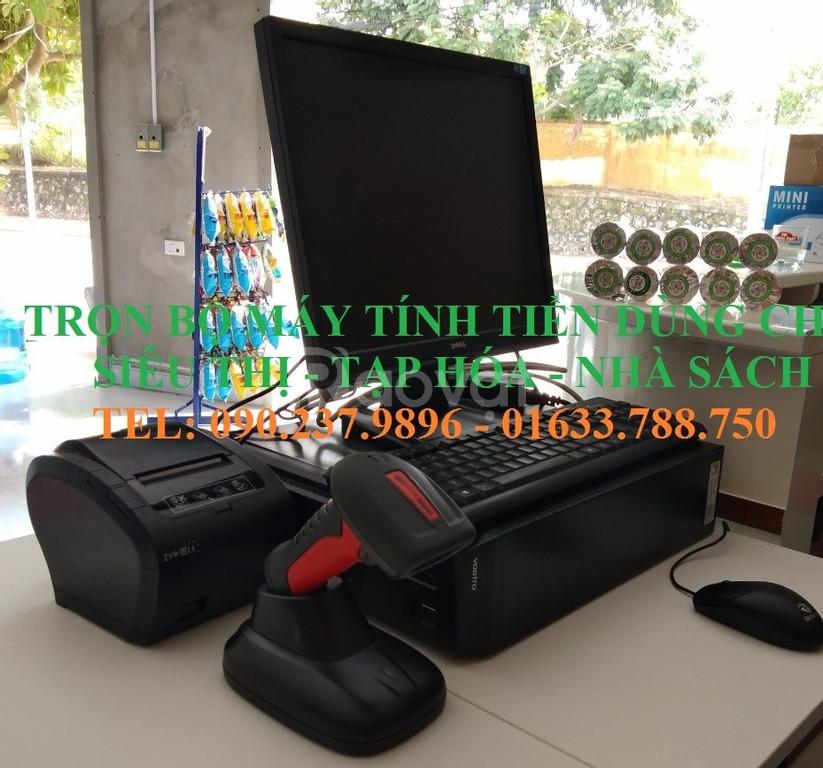 Lắp đặt máy tính tiền cho siêu thị bách hóa tại Quảng Nam