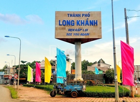Đất sổ đỏ 100m2, TP.Long Khánh, cách KCN Long Khánh 5 phút đi xe