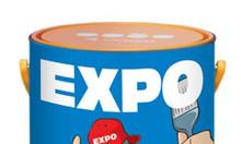 Nơi bán sơn dầu Expo màu trắng giá rẻ cho sắt thép