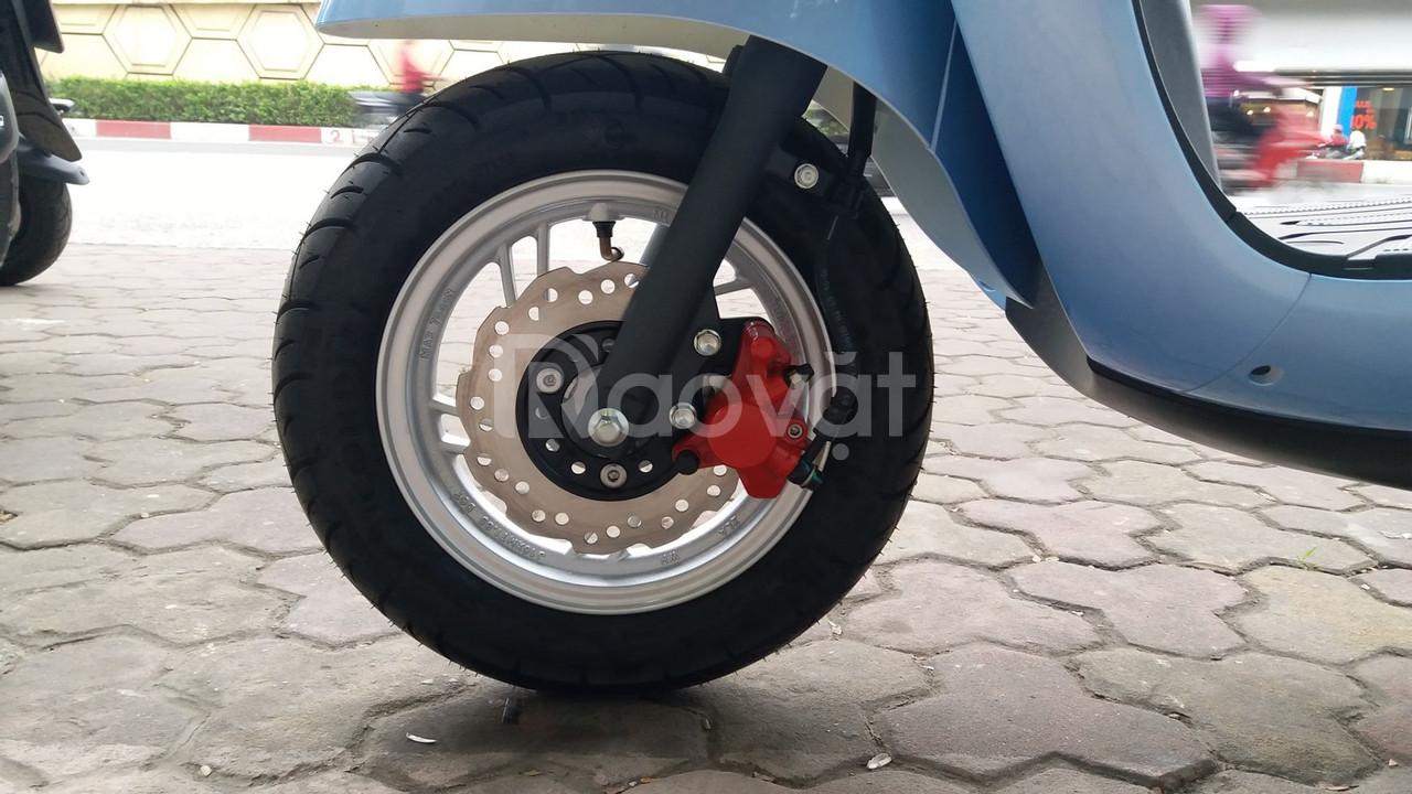 Xe máy điện Wuyang T2 thiết kế đẹp mắt động cơ mạnh mẽ