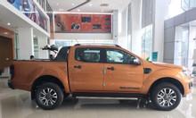 Ford Ranger Wildtrak 4x4 màu cam giao ngay giá giảm tốt
