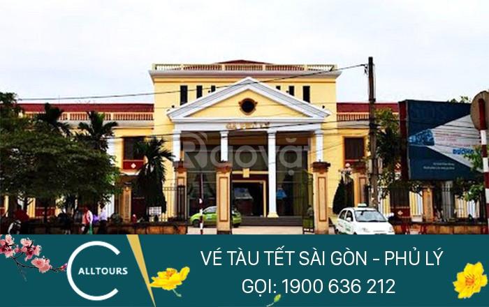 Vé tàu tết 2020 Sài Gòn Phủ Lý khi nào mở bán?