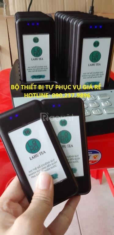 Lắp đặt thiết bị tự phục vụ cho quán trà sữa tại Quảng Nam