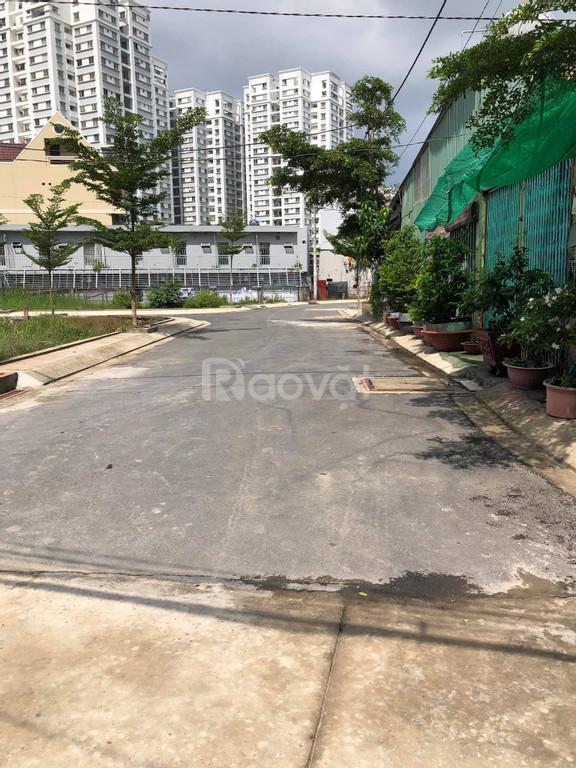 Đất hai mặt tiền hẻm 2581 Huỳnh Tấn Phát Nhà Bè