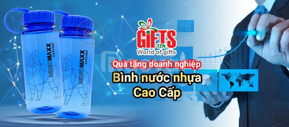 Bình nước quà tặng in logo thương hiệu - Quà tặng doanh nghiệp