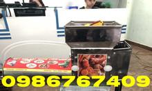 Máy xay vắt tinh bột nghệ inox 150kg/h giá rẻ
