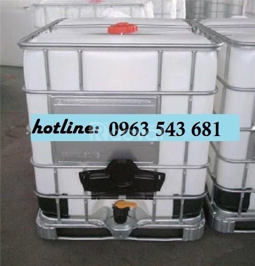 Thùng nhựa đựng thực phẩm 1000 lít, bồn nhựa 1000 lít giá rẻ HCM