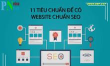 11 tiêu chuẩn để có một website chuẩn Seo