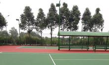 Sử dụng sơn kẻ vạch gốc nước Terraco Terrafic line cho sân tennis