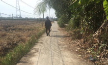 Lô đất xã An NHựt Tân, Tân Trụ, Long An, 5x50m