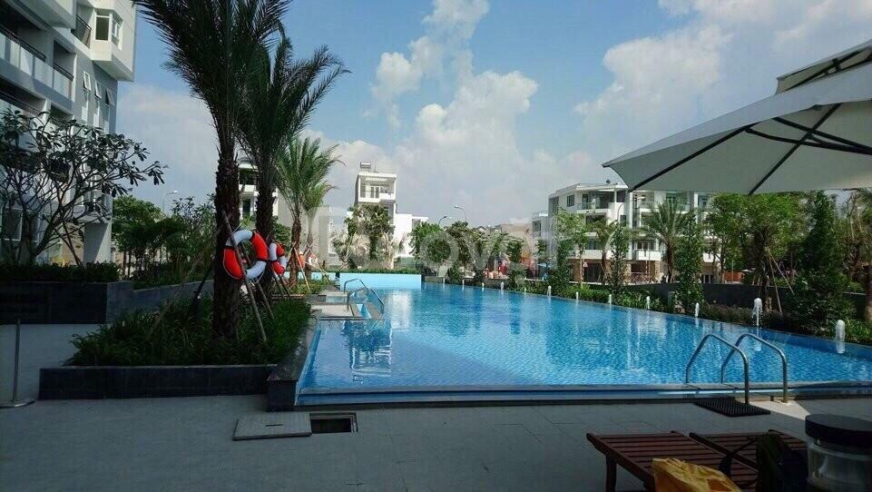 Cho thuê CH Him Lam Phú Đông, 65m2, 2PN, 2WC, nhà trống 8tr/th