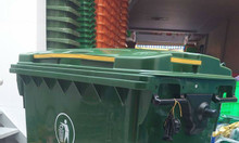 Xe đẩy rác đô thị 660 lít có 4 bánh xe - Ms Thanh
