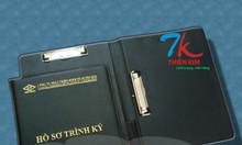 Địa chỉ cung cấp bìa đựng hồ sơ, bìa kẹp tài liệu, nơi sản xuất bìa da
