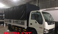 Thanh lý Isuzu 1.99 tấn thùng bạt, KM máy lạnh, hộp đen
