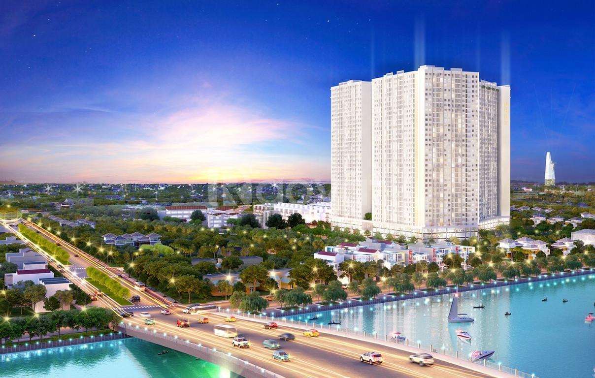 Chỉ 300 triệu sở hữu ngay căn hộ City Gate 3, Q8 DT 53m2, 2PN 1,25 tỷ