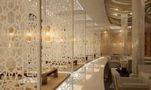 Đa dạng các mẫu vách ngăn trang trí ấn tượng cho nhà hàng, quán cafe