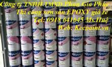 Sơn Epoxy kcc ET5660-sơn Epoxy màu xanh D40434 màu xám D80680 giá rẻ