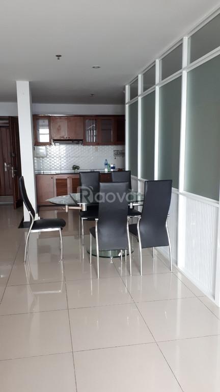 Cho thuê căn hộ Giai Việt Q8 115m2 2pn lầu cao view Bitexco