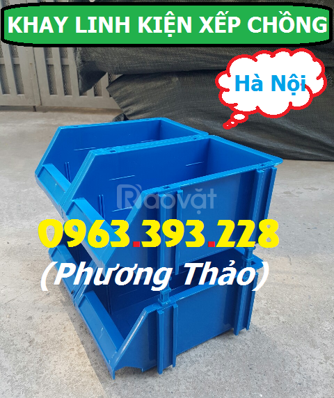 Kho cung cấp Khay linh kiện xếp chồng số lượng lớn tại Hà Nội