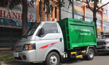 Xe chở rác Mini 3.5 khối Jac X50 máy dầu động cơ 1.8cc