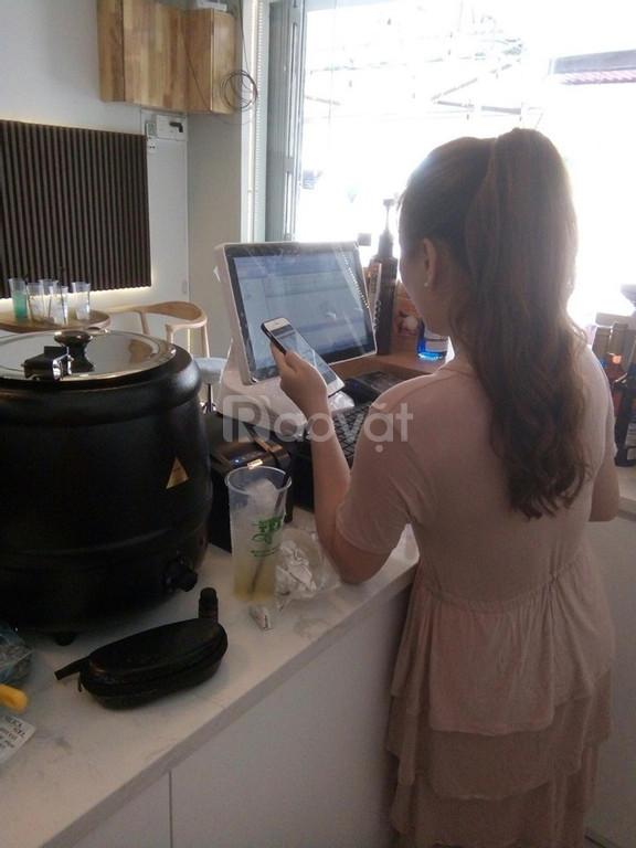 Máy tính tiền trọn bộ giá rẻ cho quán cafe trà sữa mẫu mới
