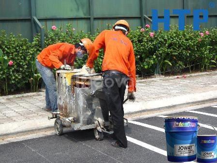 Cần bán sơn giao thông dẻo nhiệt Joton Joline màu vàng giá rẻ