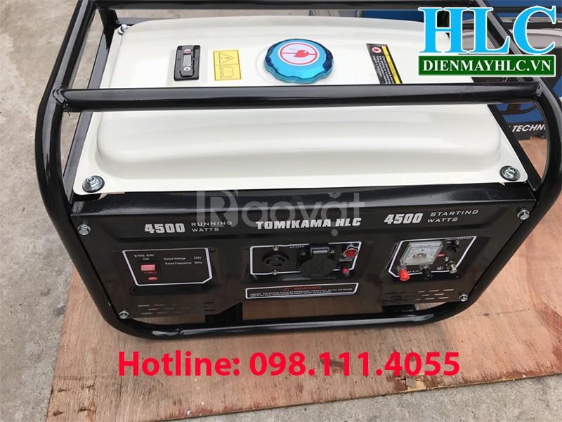 Giới thiệu máy phát điện chạy xăng Tomikama 3KW công suất