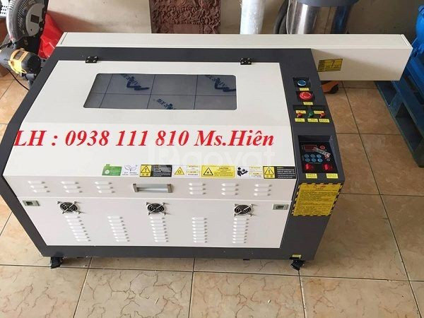 Máy laser cắt khắc gỗ , máy laser 6040 60w giá rẻ